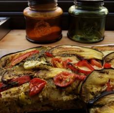 פוקצ'ה עם ירקות אנטיפסטי | נורית אילון הירש