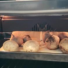סלט סלק בתנור   נורית אילון הירש