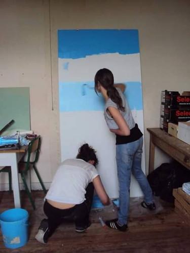 préparation porte fresque