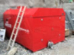 Bako Baustellenlagertank 5000 - 15000 lt ADR/SDR