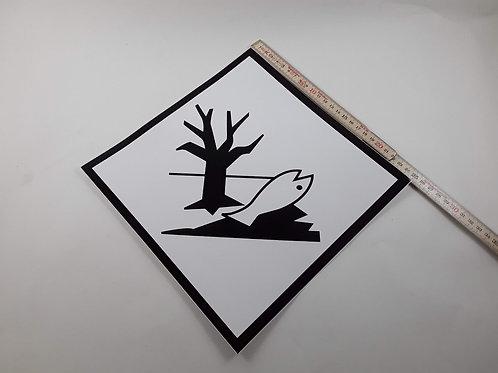 BX000093_Kennzeichen Umweltgefährdende Stoffe 25x25 cm (Aufkleber)