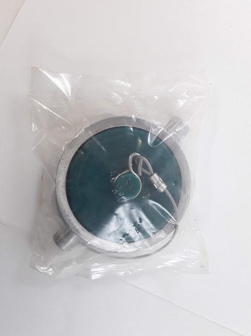 BH008120_3 Aluminium Deckel mit Gummidichtung