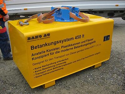 Bako Betankungssystem 450 lt ADR