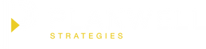 Planwell Strategies Logo_white and yello