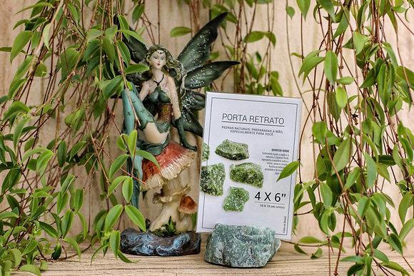 Porta Retrato / Arquétipo Quartzo Verde