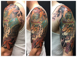 Finished up Marco's samurai tiger background. One of my favorite pieces.jpg