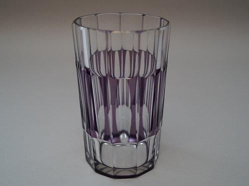 紫色切子コップ [M-048]