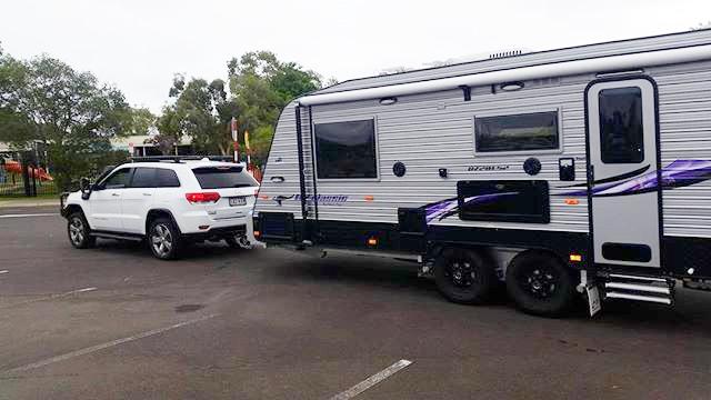 caravan towing lessons