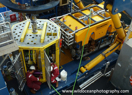 Maintaining an industrial ROV (Angola)