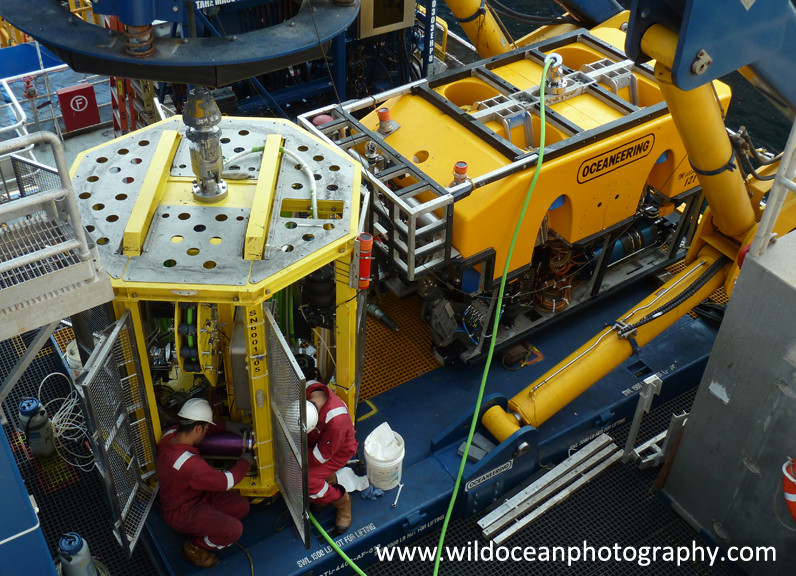 ROV maintenance