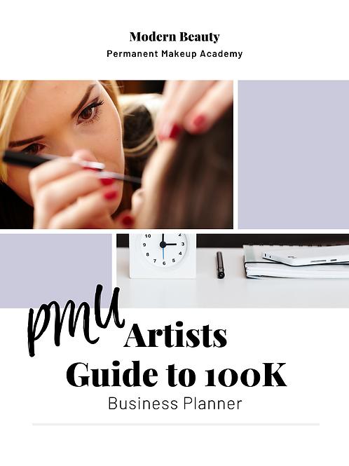 PMU Artist Guide Business Planner