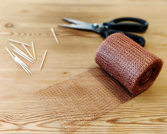 How to use copper mesh