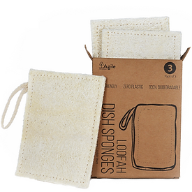 Biodegradable washing up sponge