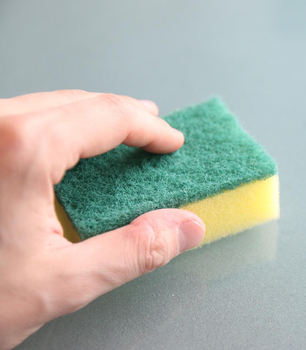 Plastic Dish Sponge