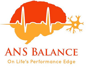 Brain neuron ANS Balance HRV logo