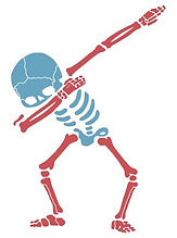 Skeleton Dabbing