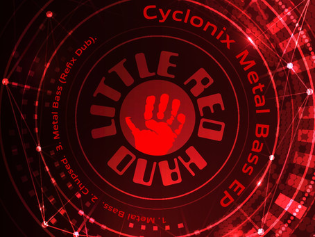 Cyclonix fuses UK bass sounds with industrial broken beat on new EP 'Metal Bass'.