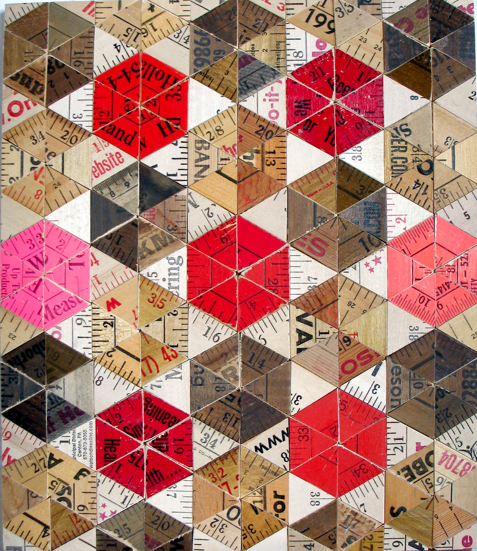 Red and Pink Pinwheel
