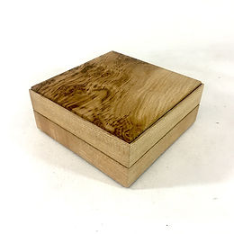 Oak & Ash stacking cufflink