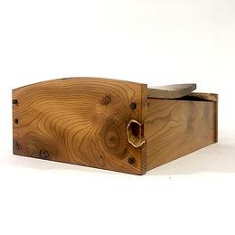 Yew desk box