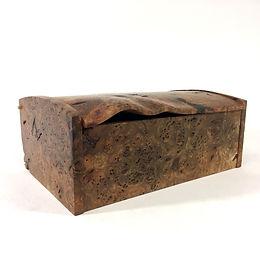 Burr Elm desk box