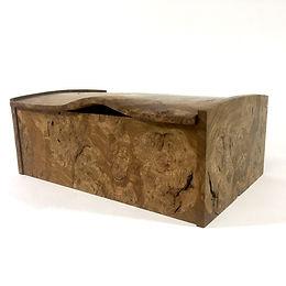 Burr Oak desk box