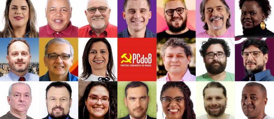 Será que o PCdoB terá representação na próxima legislatura?
