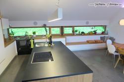 Kochinsel mit Spüle