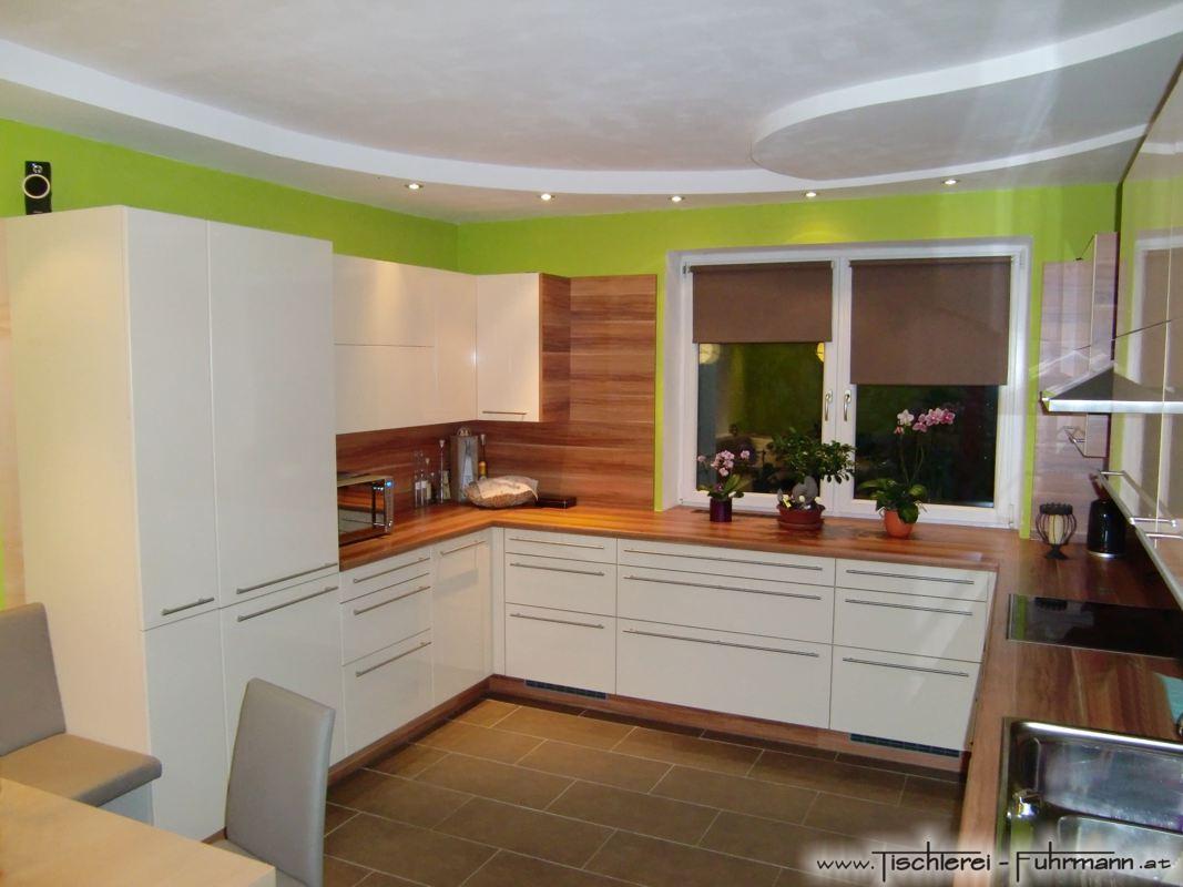 Hochglanzküche
