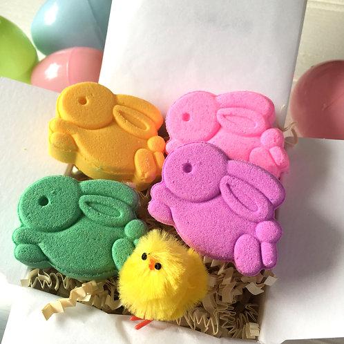 Easter Bunny Bath Bombs