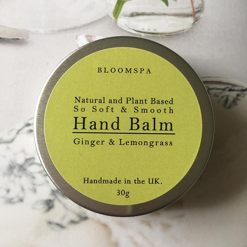 Ginger & Lemongrass Hand Balm