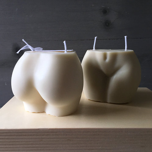 Bubble Butt Candle