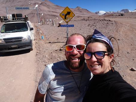 Pisco Elqui et Paso Agua Negra