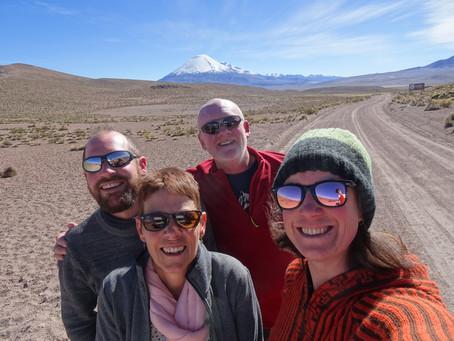 Salar de Surire, Arica et départ vers Cusco