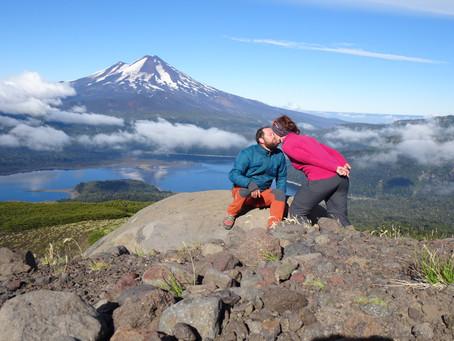 Les volcans, entre Chili et Argentine