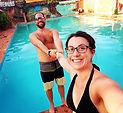 Je te tiens! 🤩💖 #chaleur #piscine #vad