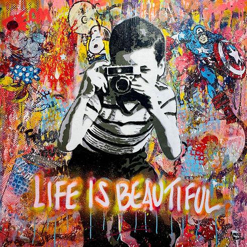 Marco Valentini Galerie Vogel Lief_is_beautiful-3 Pop Art.jpg