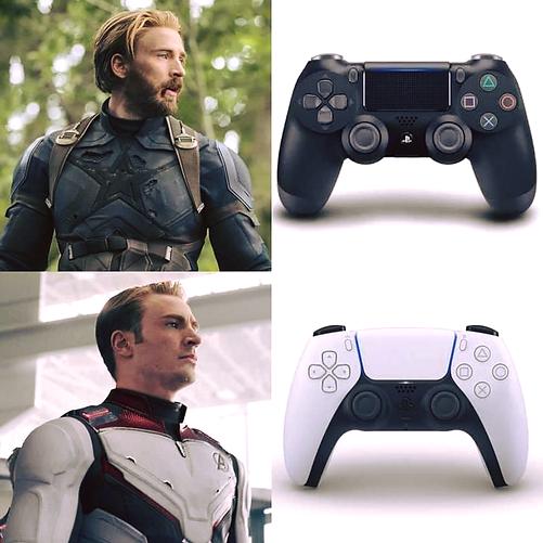 PS5 controller meme