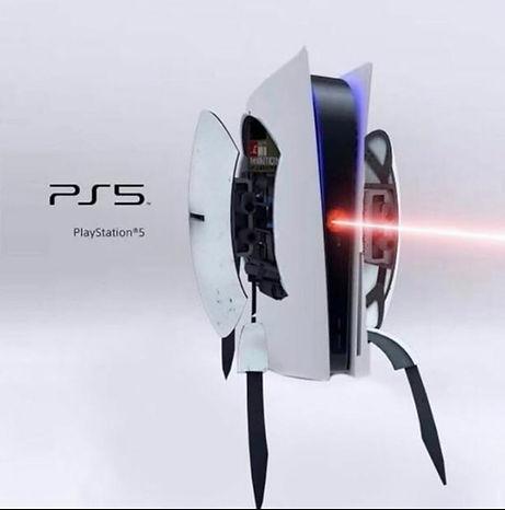 PS5 design meme