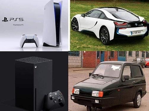 PS5 vs X box meme