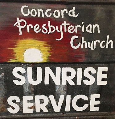 Easter Sunrise Service - April 12th, 2020