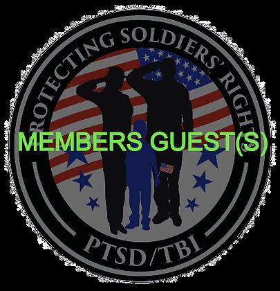 PSR Members Guest(s)