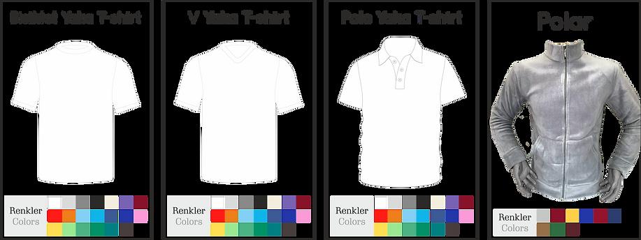 Ürün Renk ve Model Çeşitleri