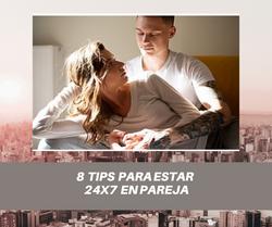 8 Tips para estar 24x7 en pareja