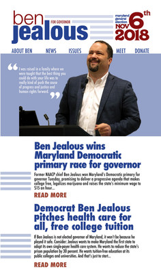 Ben Jealous for Governor