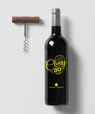 30th Anniversary Wine Bottle