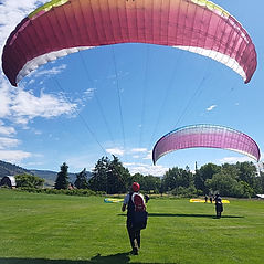 Okanagan Paragliding Lessons near Vernon BC
