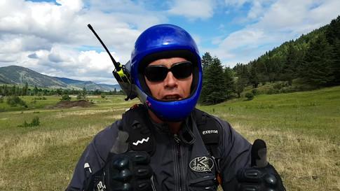 Paragliding lessons Vernon BC