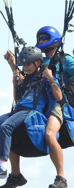 Okanagan Tandem Paragliding near Vernon BC