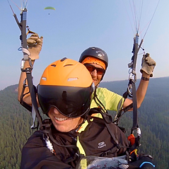 Tandem Okanagan Paragliding near Vernon BC